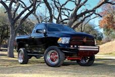 N-FAB D092LRSP-TX RSP Front Bumper Bumpers Textured Black Direct Fit LED