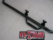 N-FAB D0952RC Nerf Step Step Systems Gloss Black Cab Length