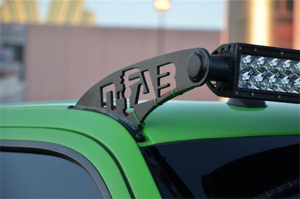 N-FAB F0950LR Roof Mounts L.M.S. Gloss Black 50 Series