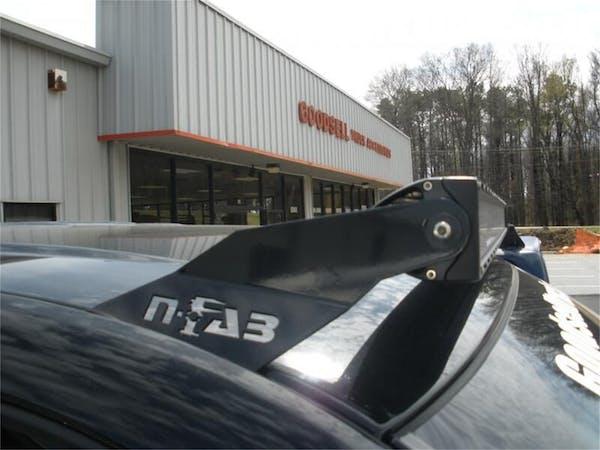 N-FAB F9949LR Roof Mounts L.M.S. Gloss Black 49 Series