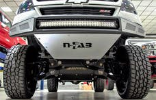 N-FAB G151MRDS-TX M-RDS Front Bumper Bumpers Textured Black
