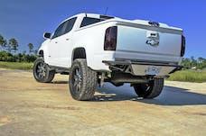N-FAB G15RBS-H-TX RBS-H Rear Bumper Bumpers Textured Black PreRunner Style
