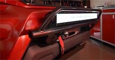 N-FAB IN9730LD-TX Light Bar L.M.S. Textured Black Multi-Mount System (MMS)