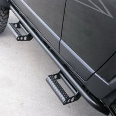 N-FAB C144RKRCCS4 RKR Step System Step Systems Textured Black Cab Length