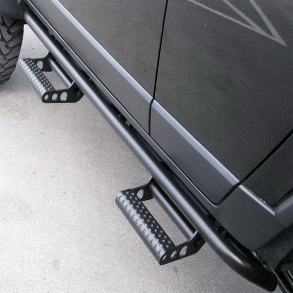 N-FAB G154RKRCCS4 RKR Step System Step Systems Textured Black Cab Length