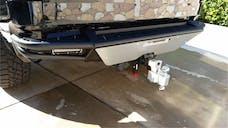 N-FAB T07RBS-H-TX RBS-H Rear Bumper Bumpers Textured Black PreRunner Style