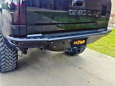N-FAB T07RBS-H RBS-H Rear Bumper Bumpers Gloss Black PreRunner Style