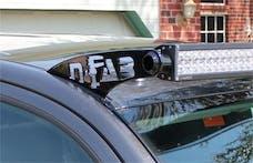 N-FAB T1050LR-TX Roof Mounts L.M.S. Textured Black 50 Series