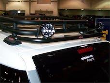 N-FAB TFJ4RLR Roof Mounts L.M.S. Textured Black Rear