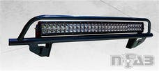 N-FAB D0430OR O.R. Light Bar L.M.S. Gloss Black Multi-Mount System (MMS)
