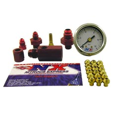 Nitrous Express 15519P Master Flo-Check Nitrous Pressure Gauge