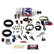 Nitrous Express 60007-BLKP Piranha EFI Direct Port Nitrous System
