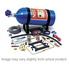 NOS 02002NOS CHEATER V8 HOLLEY DOM. 4BBL
