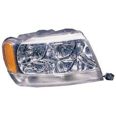 Omix-ADA 12402.10 Right Headlight; 99-04 Jeep Grand Cherokee WJ