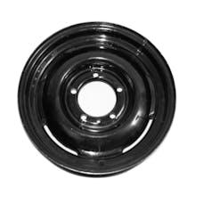 Omix-Ada 16725.01 Steel Wheel, 16 inch, Black