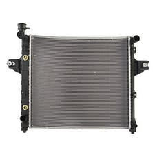 Omix-ADA 17101.30 Radiator, 1 Row, 4.7L; 99-00 Jeep Grand Cherokee WJ