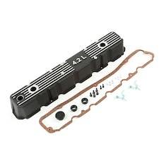 Omix-Ada 17401.21 Valve Cover, Black Aluminum