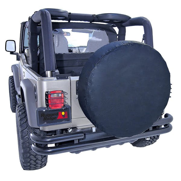 Outland Automotive 391280135 27-29 Inch Tire Cover, Black Diamond