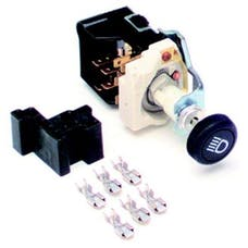 Painless 80152 Headlight Switch/Black Knob/GM Style w/Dimmer/Dome Light