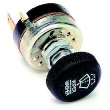Painless 80173 Windshield Wiper Switch w/Black Knob
