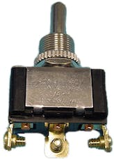 Painless 80512 Heavy Duty Toggle Switch - On/Off/On Single Pole 20 Amp