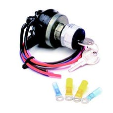 Painless 80529 Waterproof Universal Keyed Ignition Switch