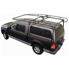 Paramount Automotive 19601 Camper Shell Contractors Rack Black