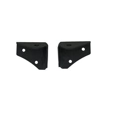 Paramount Automotive 51-0453 Windshield Lower Hinge Light Mount Brackets Black