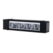 "PIAA 16-07110 RF Series 10"" LED Light Bar Hybrid Beam Single"