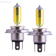 PIAA 22-13404 H4 (9003) Solar Yellow Twin Pack - 2500K - 12V 60/55W