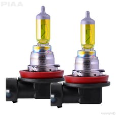 PIAA 22-13416 H16 Solar Yellow Twin Pack - 2500K - 12V 19W