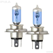 PIAA 23-10104 Xtreme White Hybrid Series Halogen Bulb (H4/9003, Twin Pack)