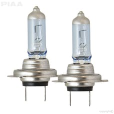PIAA 23-10107 Xtreme White Hybrid Series Halogen Bulb (H7, Twin Pack)