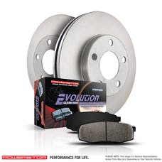 Power Stop LLC KOE1770 Autospecialty By Power Stop 1-Click Daily Driver Brake Kits