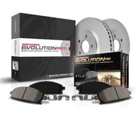 Power Stop LLC CRK7414 Z17 Evolution Geomet® Coated Brake Kit