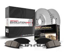 Power Stop LLC CRK7896 Z17 Evolution Brake Kit with Genuine Geomet® Coated Rotors And Z17 Clean Ride Ce