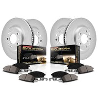 Power Stop LLC CRK2832 Z17 Evolution Geomet® Coated Brake Kit