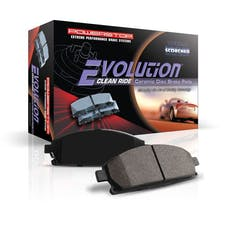 Power Stop LLC 16-1033 Z16 Evolution Ceramic Clean Ride Scorched Brake Pads