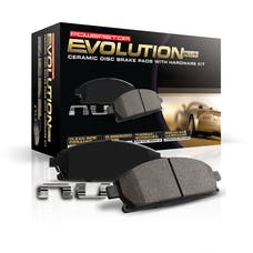 Power Stop LLC 17-1540 Z17 Evolution Plus Premium Ceramic Brake Pads w/Hardware