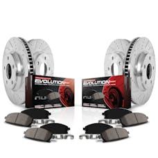 Power Stop LLC K5955 Z23 EvolutionSport Brake Upgrade Kit