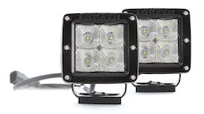 Pro Comp Suspension 76406P 2X2 SQUARE 5W LED PAIR S4 GEN2 FLOOD PATTERN