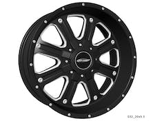 Pro Comp Wheels 5182-29539 Xtreme Alloys Series 5182 Black/Machined Finish