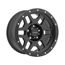 Pro Comp Wheels 5041-295552 20x9 5x150 5.25BS 6MM OS SATIN BLACK W/SS BOLTS