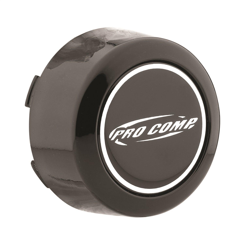 "Pro Comp Wheels 8425141 4.25/"" Bore Wheel Center Cap Black Push Thru"
