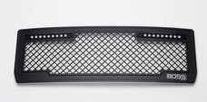 Putco 270512BL Lighted Boss Grille