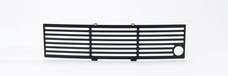 Putco 87182FP EcoBoost Grille Stainless Steel - Black Bar with Heater Plug Opening