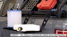 Putco 185707 TEC Table with Mounting Arms - No drill