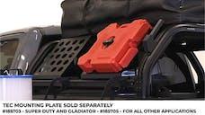 "Putco 185703 TEC Mounting Plate - 12"" x 12.5"" x18"""