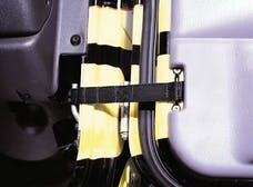 Rampage Products 769401 Adjustable Door Strap; Pair