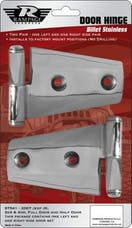 Rampage Products 87541 Door Hinges Polished